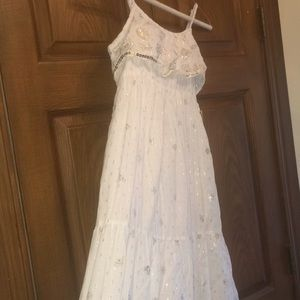 Justice White Summer Dress